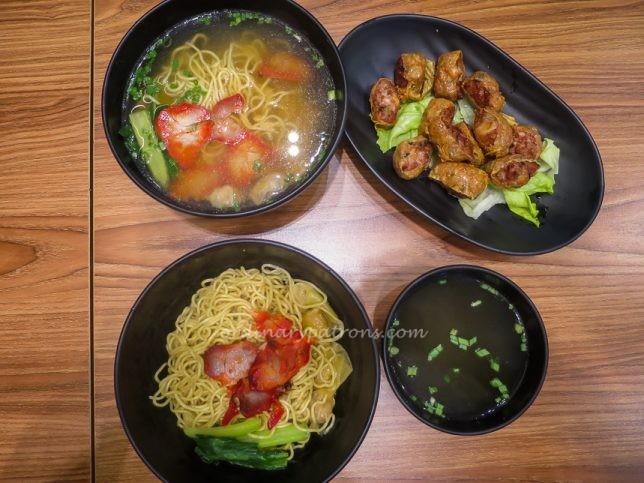 Signature Wanton Fu Dry Wanton Noodles