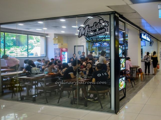 Newly Opened Maddie's Kitchen In Far East Plaza