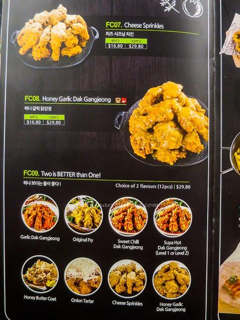 Pizza Maru Singapore Menu