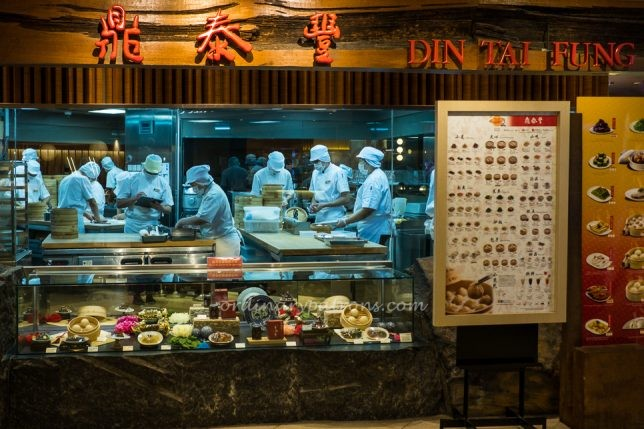 Singapore restaurant food takeaway & delivery places
