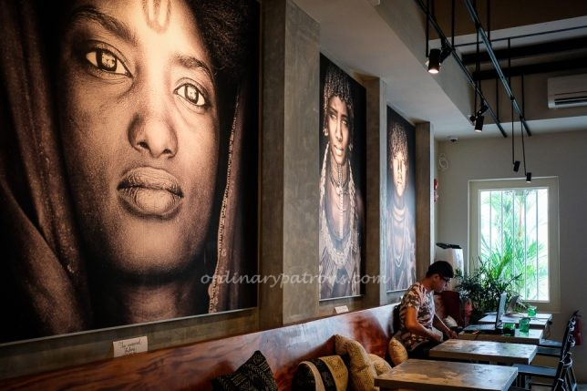 Kafe UTU refers to itself as an Afro Cafe & Lounge