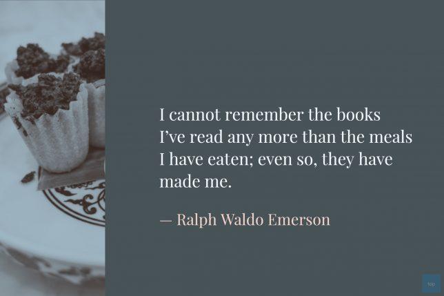 Quote - Ralph Waldo Emerson