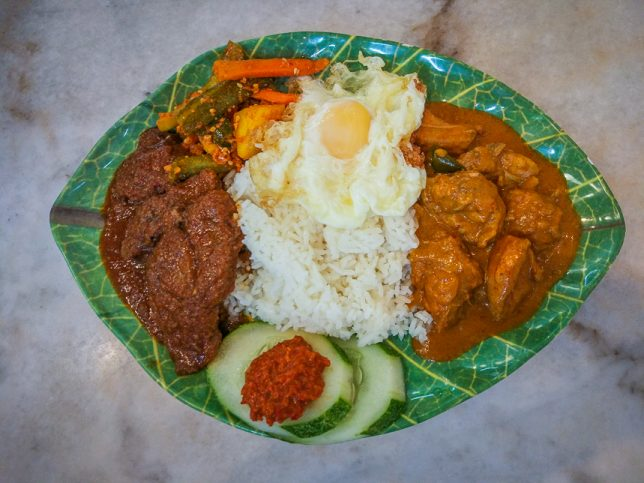 Beef Rendang Rice Set