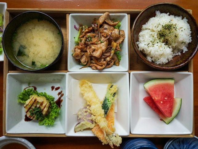 Buta Shogayaki  - Sen of Japan Set Lunch