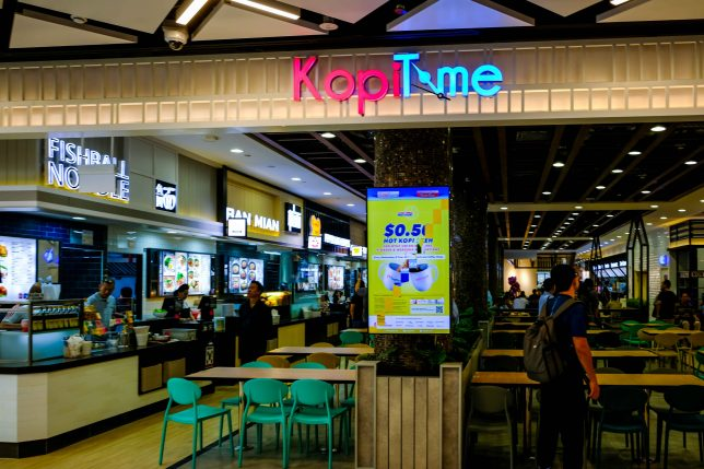 KopiTime Food Court in PLQ Mall