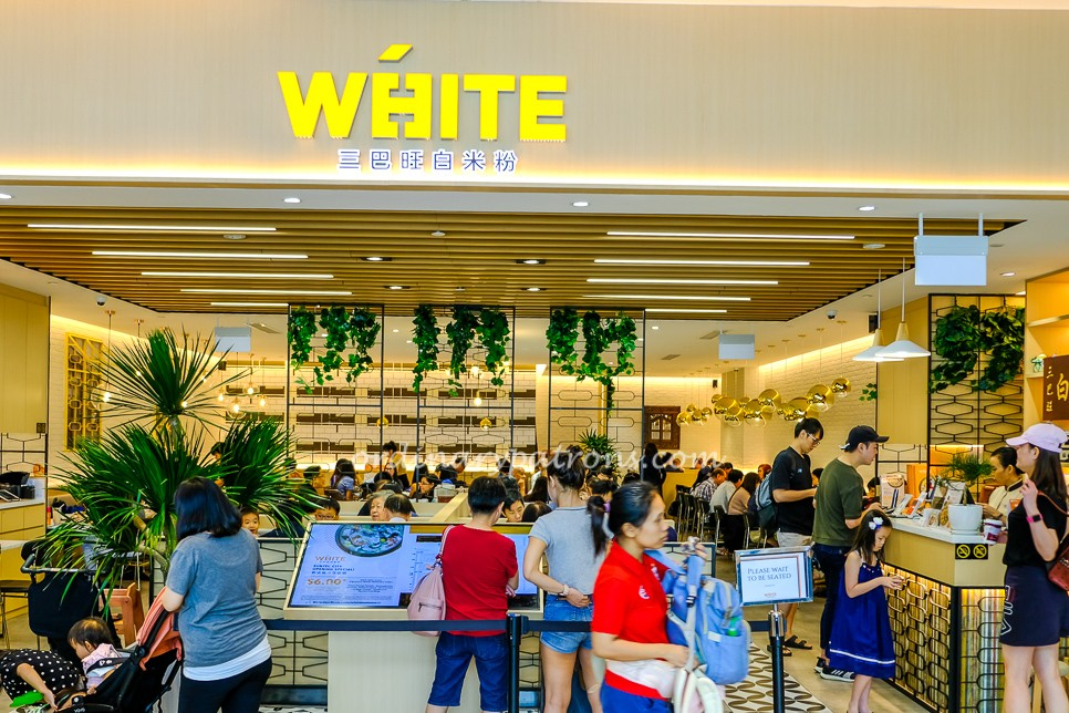 White Restaurant Delivery Singapore