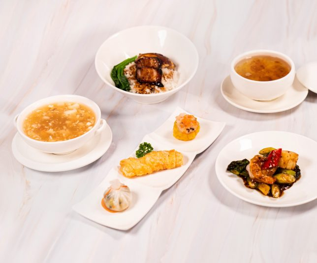 Refreshed 5-Course Set Lunch For Only $38++