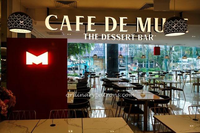 Cafe de Muse, Dessert Bar, Level 2 Isetan Scotts