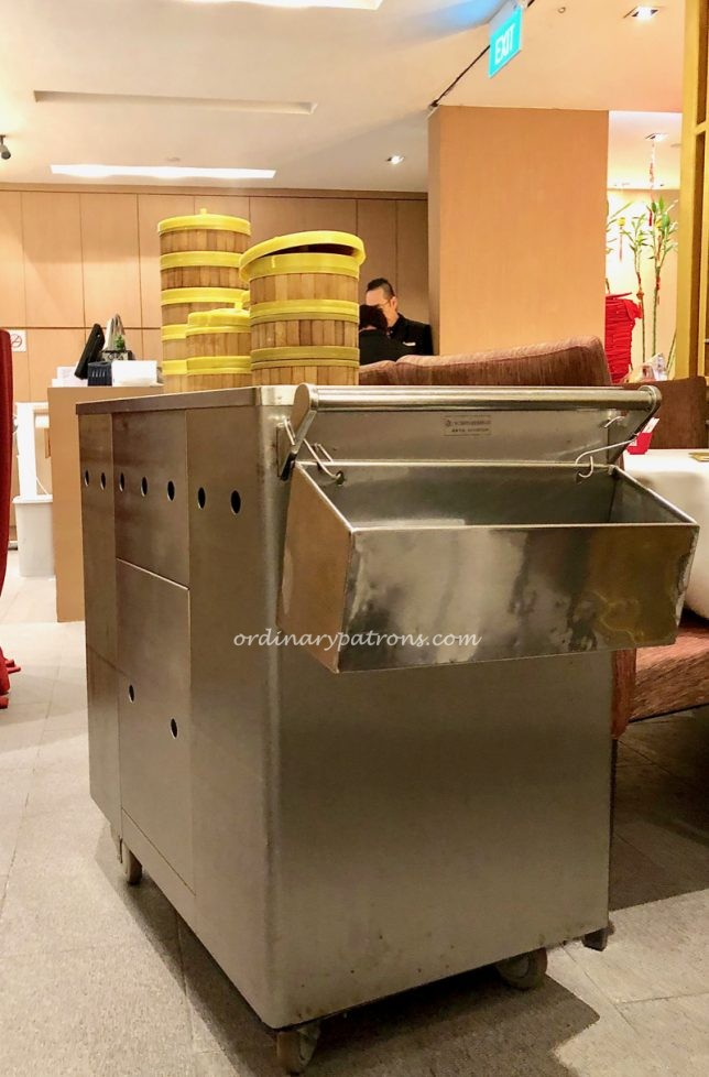Push Cart Dim Sum Restaurant in Singapore, Peach Garden at Thomson Plaze
