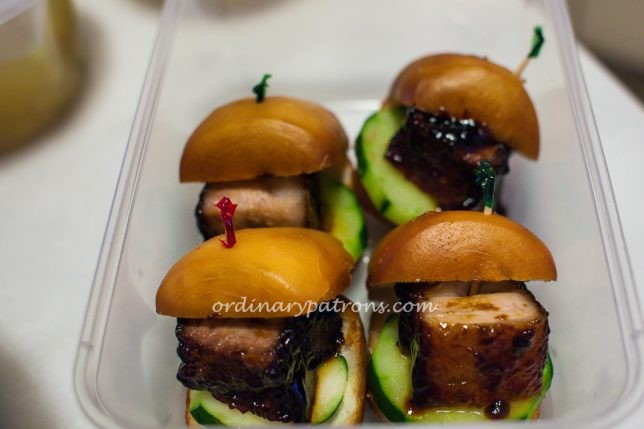 One Bowl Char Siew Sliders
