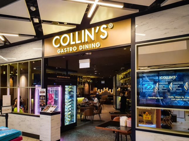 COLLIN'S Gastro Dining for cheap Western food takeaway