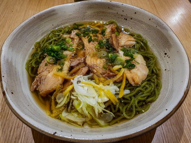 Maccha House Chicken Yuzu Ramen