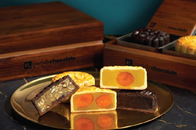 Awfully Chocolate Classic Baked Mooncakes