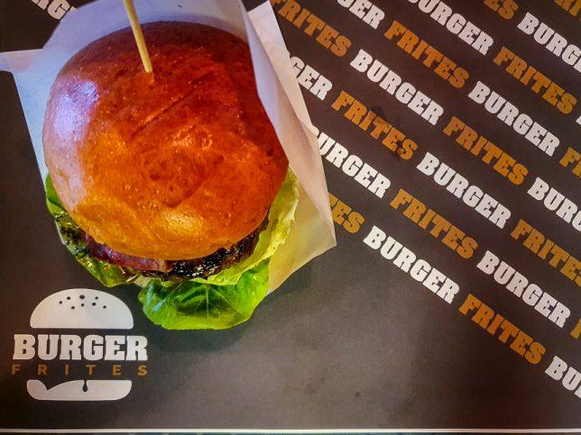 Burger Frites Bacon Burger