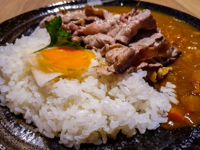 Curry Rice at Iberico Pork Restaurant in Chinatown