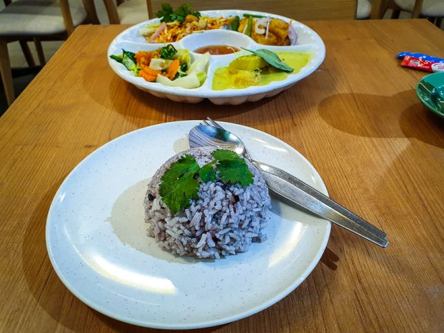 Olive Rice Set of Jai Siam Restaurant