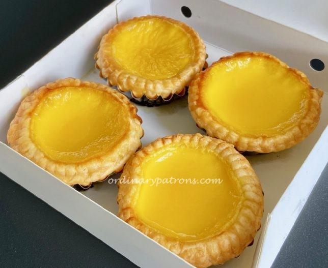 Joy Luck Teahouse Ion Orchard Egg Tarts