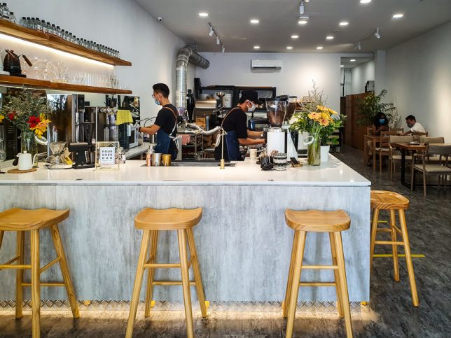 Kings Cart Coffee Factory in Joo Chiat