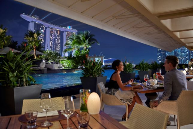 Mandarin Oriental, Singapore - Dolce Vita Terrace