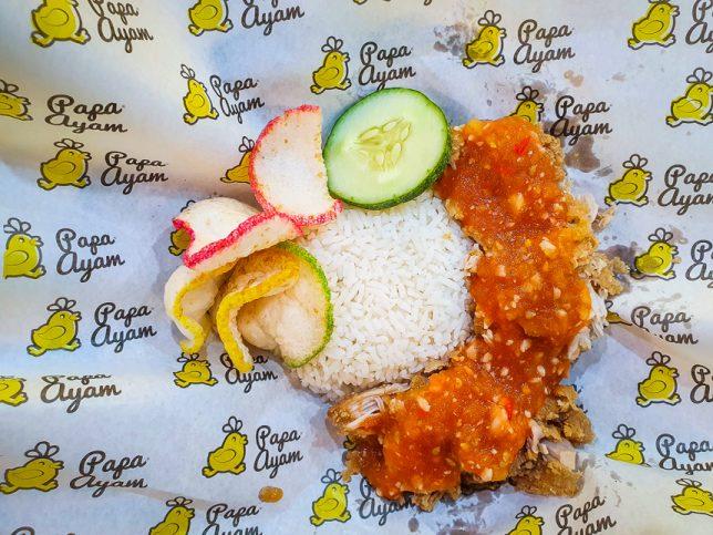 Ayam Geprek Original