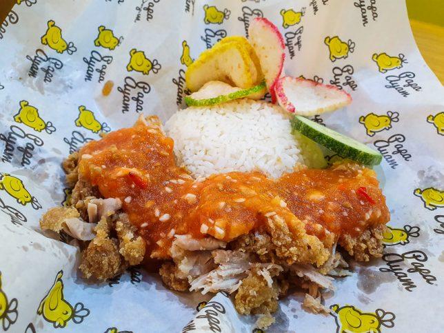 Ayam Geprek Original at Papa Ayam